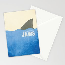 Jaws - Minimal Stationery Cards