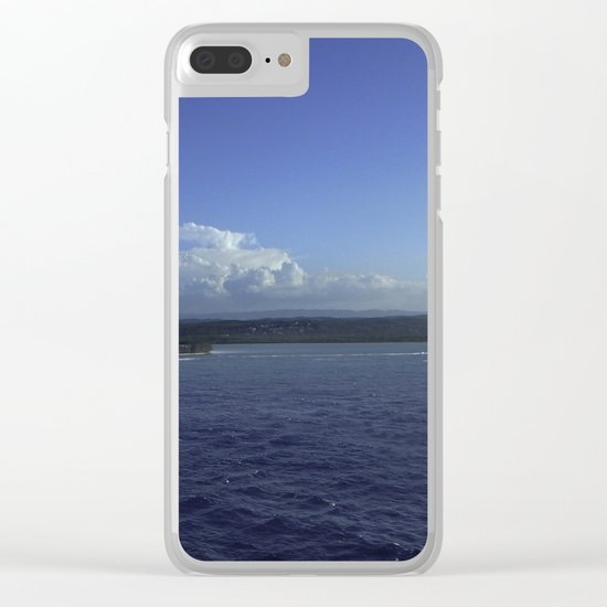 Jamaican Shoreline Clear iPhone Case