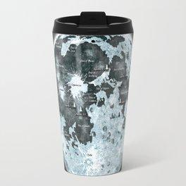 Full Moon Outer space Art Travel Mug