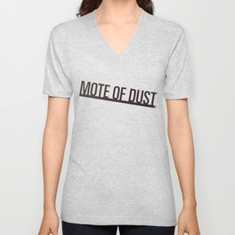 Mote of Dust Sunbeam Logo Unisex V-Neck