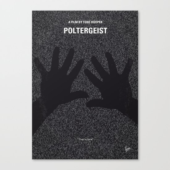 No266 My POLTERGEIST minimal movie poster Canvas Print