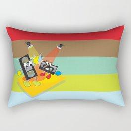 80's explosion Rectangular Pillow