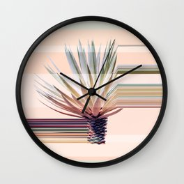 Agave Stripe Wall Clock