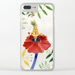 thumbelina 2 Clear iPhone Case