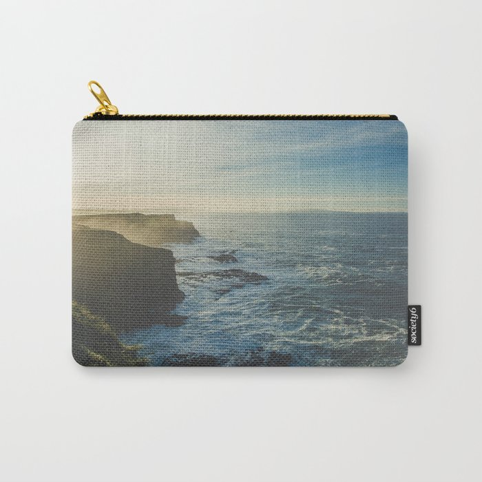 I Will Come Back But First... // Landscape // Edge of Cliff Photography #society6 #art #prints Carry-All Pouch
