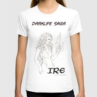 saga T-shirts featuring DarkLife Saga Characters: Irulan  by Ronnie Massey