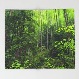 Forest Hill Throw Blanket