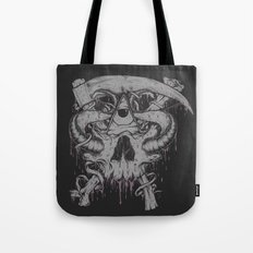 Sickle & Bone  Tote Bag