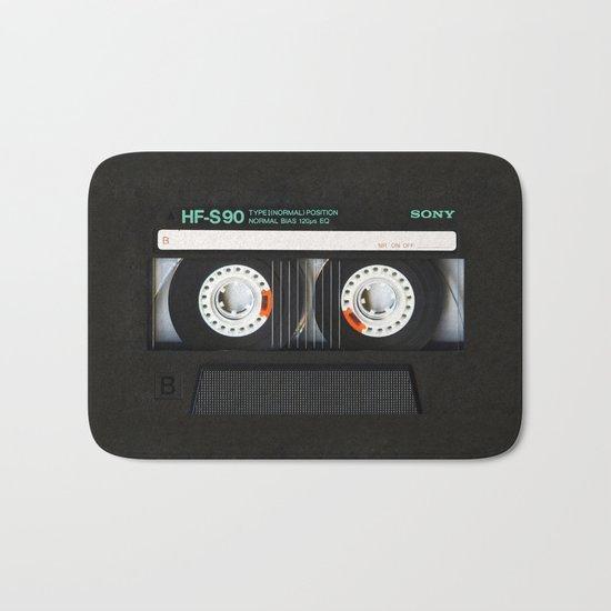 Classic retro sony cassette tape iPhone 4 4s 5 5c, ipod, ipad, tshirt, mugs and pillow case Bath Mat