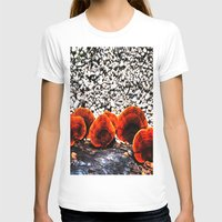 mushrooms T-shirts featuring Mushrooms by Sumii Haleem