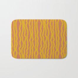 Wiggly Stripes Bath Mat
