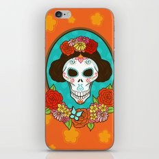 Day of the Dead Beauty iPhone & iPod Skin