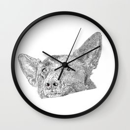 Mitzi takes it easy Wall Clock