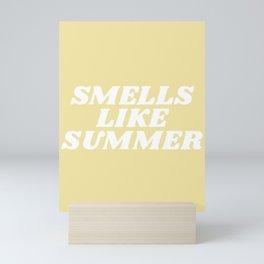Smells like Summer Mini Art Print