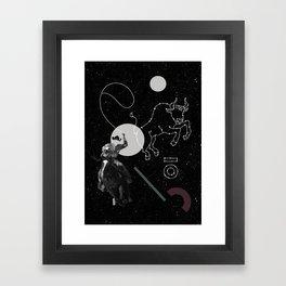Space Cowboy I Framed Art Print