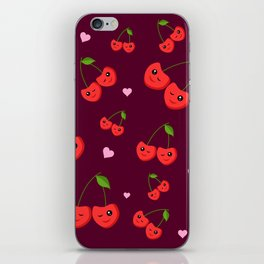 Cherry Party iPhone Skin