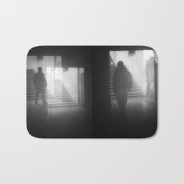 Meet the darkness in your mind Bath Mat