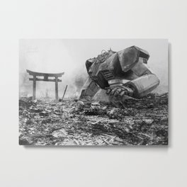 Nagasaki RGM79 Metal Print