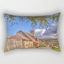 The Live & Let Live 16th Century Pub Rectangular Pillow