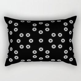 stars 51- black and whitestars 51- black and white Rectangular Pillow