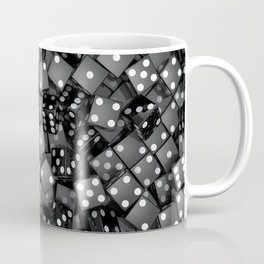 Black dice Coffee Mug