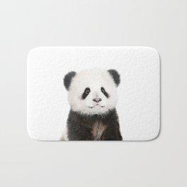 Baby Panda Portrait Bath Mat