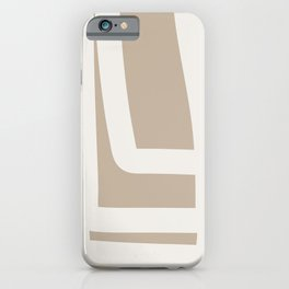 Neutral Abstract 5A iPhone Case