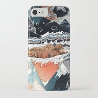 30 seconds to mars iPhone & iPod Cases featuring Seconds Behind by Sandra Dieckmann