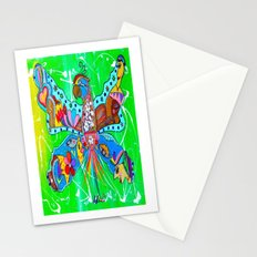PARROFLY WITH ME! Stationery Cards