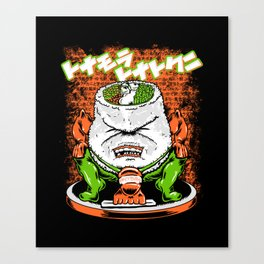 Sumo Sushi Canvas Print