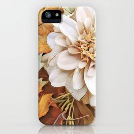 Autumn's Floral iPhone Case