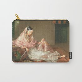Muslim Lady Reclining - Renaldi Carry-All Pouch