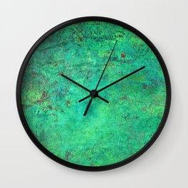 Getting Chirish on St. Patrick's Day Wall Clock