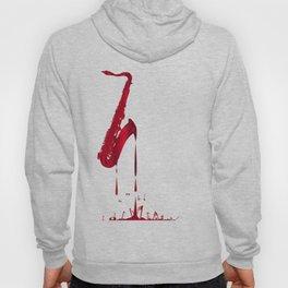 Red Hot Saxophone Hoody
