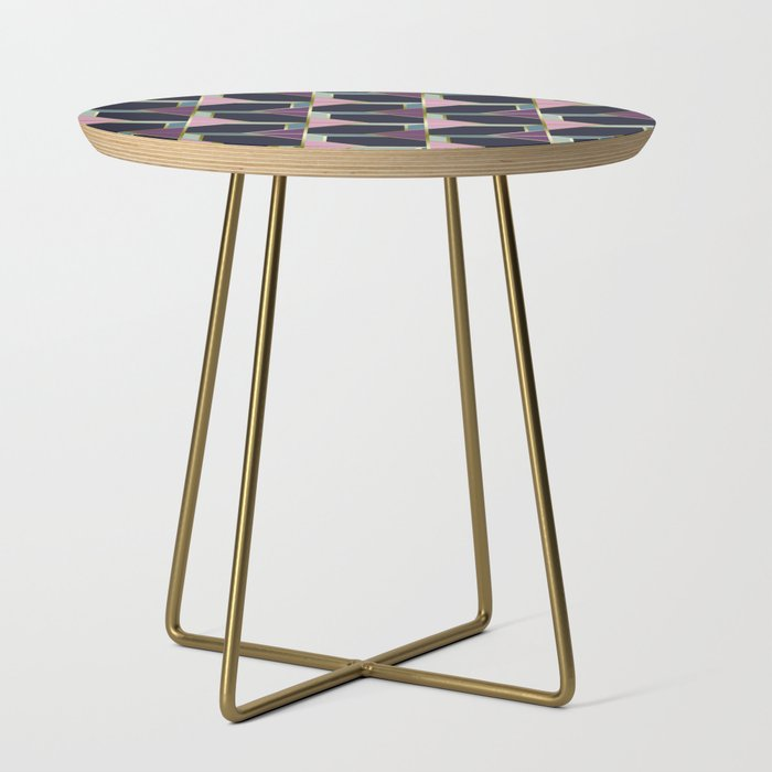 Ultra Deco 4 Society6 Ultraviolet Artdeco Side Table By Designdn