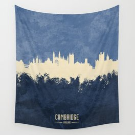 Cambridge England Skyline Wall Tapestry