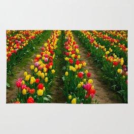 Tulip Fields Rug