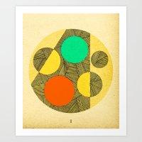 - cosmogony_01 - Art Print