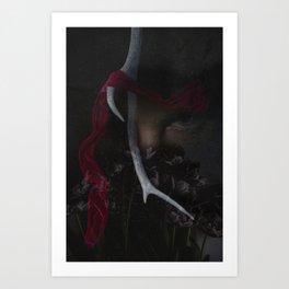 The Deep Red Art Print