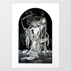 Death and the Maiden III Art Print