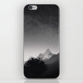 Himalayas at Night iPhone Skin