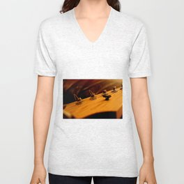 Guitar Tuners Unisex V-Neck