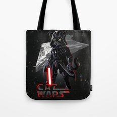 Cat Darth Vader  Tote Bag