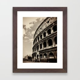 Il Colosseo Framed Art Print