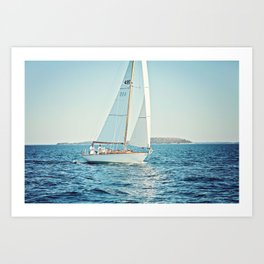 Ahoy Art Print