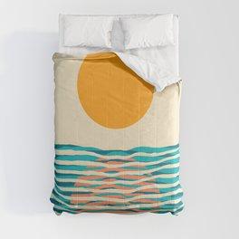 Ocean current Comforters