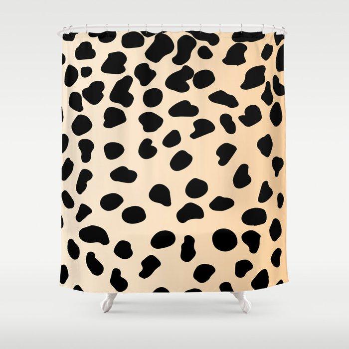 Leopard Animal Print Shower Curtain By Kargarvi