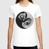 ying yang T-shirts featuring ying yang by ivette mancilla