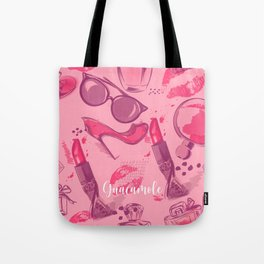 FASHION STYLE PINK Tote Bag