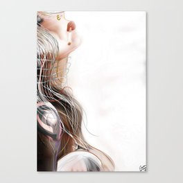 Machine Atom Canvas Print